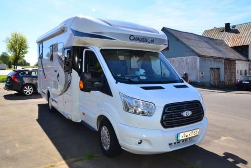 Wohnmobil mieten in Langenbach bei Kirburg von privat | Ford Benny