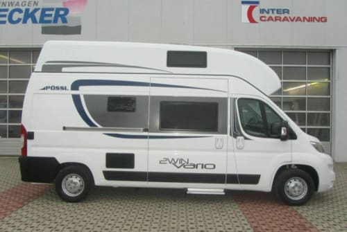 Wohnmobil mieten in Hassendorf von privat   Pössl 2WIN Vario XL