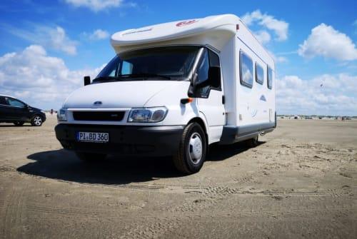 Wohnmobil mieten in Quickborn von privat   Eura Mobil  Eddy WOMOnizer