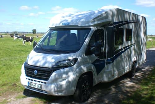 Wohnmobil mieten in Nordhorn von privat | Knaus Enno