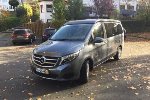 Wohnmobil mieten in Paderborn von privat | Mercedes Benz Schorsch