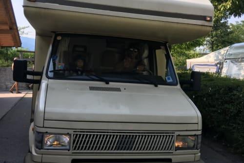 Wohnmobil mieten in Kochel a. See von privat   Fiat  Hubert