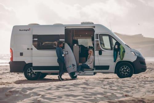 Wohnmobil mieten in Markgröningen von privat | Sunlight Cliff 600