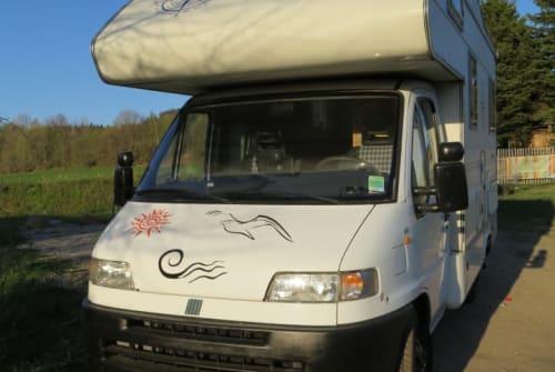 Wohnmobil mieten in Radebeul von privat | Rimor Schorsch