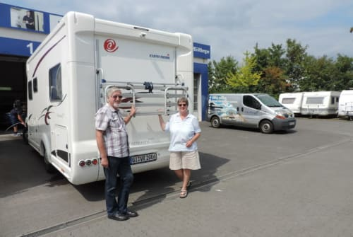 """Wohnmobil mieten in Oberaula von privat   Eura Mobil Unser """"Dicker"""""""
