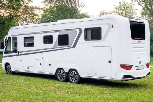Wohnmobil mieten in Emden von privat   Knaus Dicke Sonne New