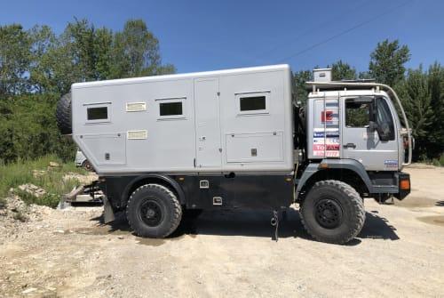 Wohnmobil mieten in Vriescheloo von privat | MAN Expeditiecamper
