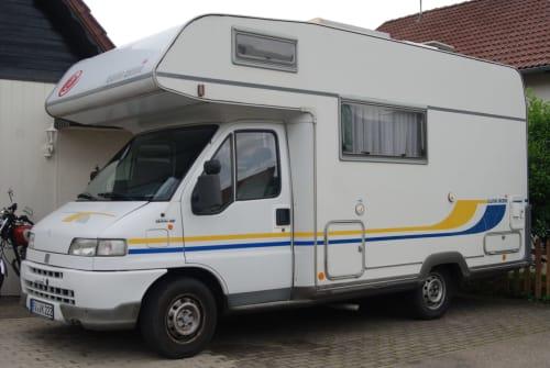 Wohnmobil mieten in Wangen im Allgäu von privat | Eura Mobil Rosi 2