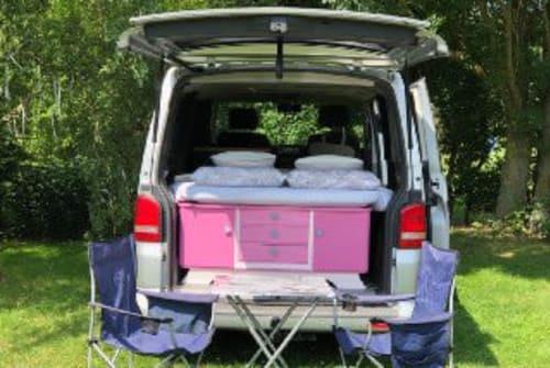 Wohnmobil mieten in Reußenköge von privat   VW Miss Silver