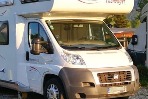 Wohnmobil mieten in München von privat | Challenger EMMA