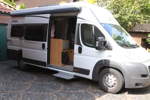 Wohnmobil mieten in Dorsten von privat   Pössl  Berti