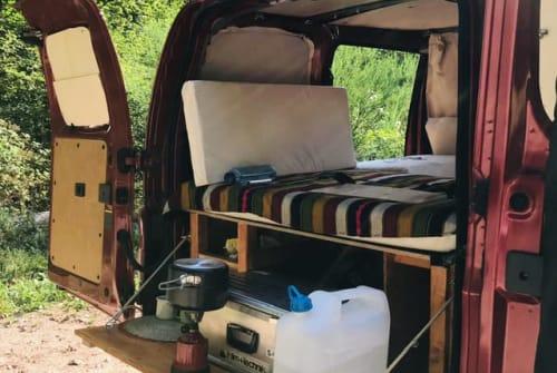 """Wohnmobil mieten in Neu-Isenburg von privat   Nissan """"Berta"""""""
