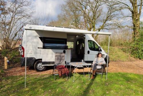 Wohnmobil mieten in Amsterdam von privat | Fiat Ducato Unieke camper