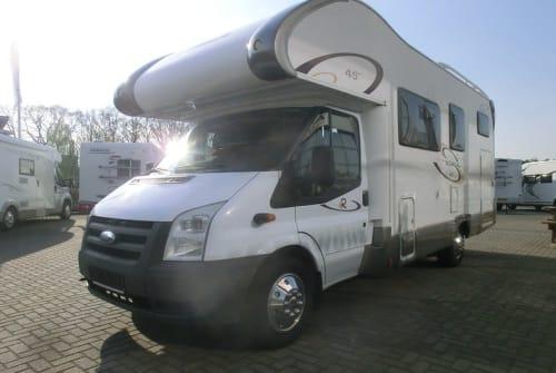 Wohnmobil mieten in Zwolle von privat   Rimor kamper airco tv
