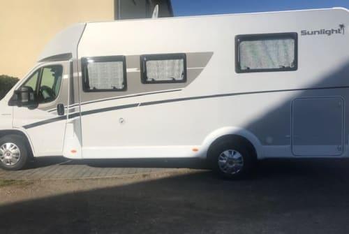Wohnmobil mieten in Erzhausen von privat | Fiat Sunlight T69S Sunlight T69S