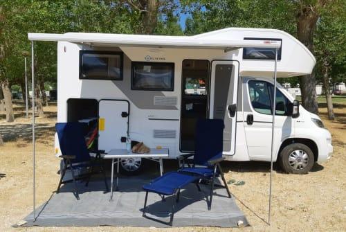 Wohnmobil mieten in Rosenheim von privat | Sun Living Herr Rossi