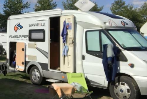 Wohnmobil mieten in Dreieich von privat   Hobby Hobby Van