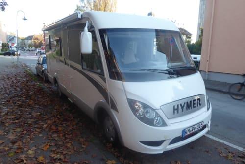 Wohnmobil mieten in Konstanz von privat | Hymer Hymer Exsis