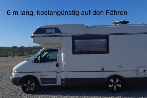 Wohnmobil mieten in Klipphausen von privat | VW T4 Karmann Colorado, Klima, 6 Dreipunktgurte Bo - neu/Klima