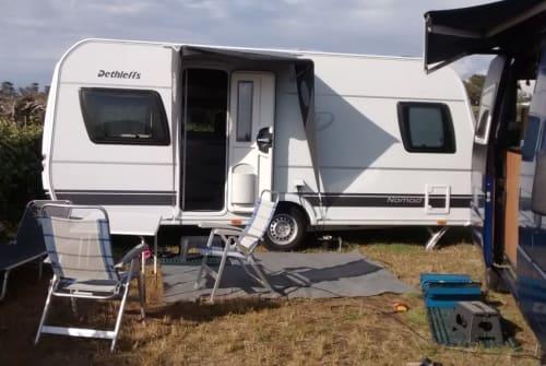 Wohnmobil mieten in Wolfertschwenden von privat   Dethleffs Nomad