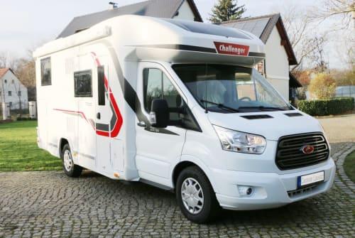 Wohnmobil mieten in Wittichenau von privat | Challenenger Jonny