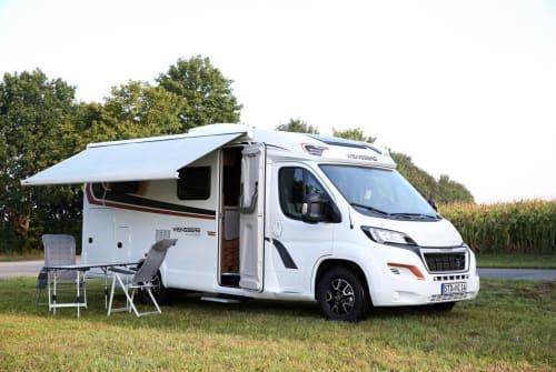 Wohnmobil mieten in Harsefeld von privat   Weinsberg Betty