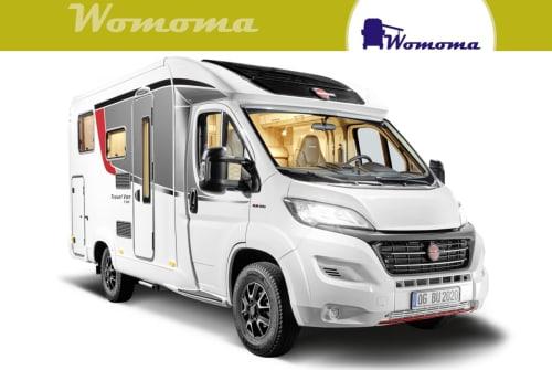 Wohnmobil mieten in Wolmirstedt von privat   Bürstner Travel VanT590G