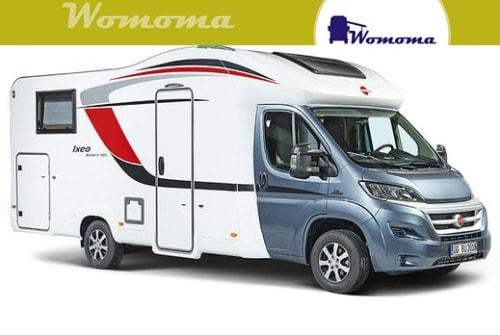 Wohnmobil mieten in Wolmirstedt von privat   Bürstner Ixeo TimeIT726G