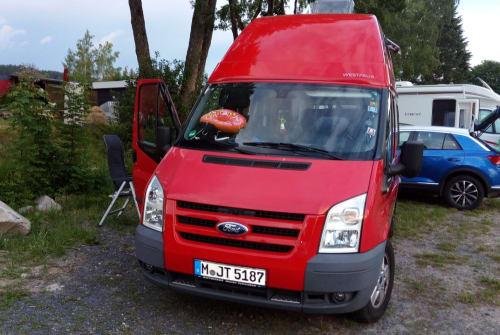 Wohnmobil mieten in München von privat | Ford Nugget Lissy5