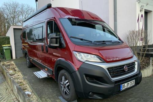 Wohnmobil mieten in Oberhausen von privat   Pössl bed-mobil