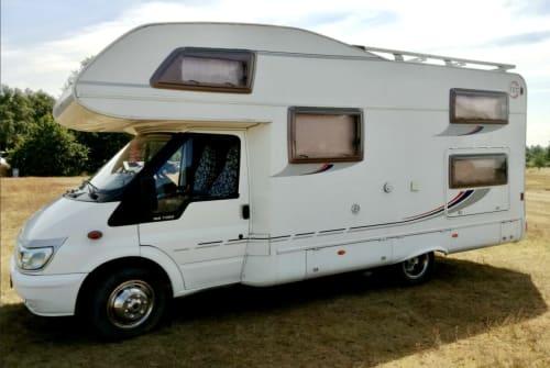 Wohnmobil mieten in Panketal von privat | Ford Transit Helene