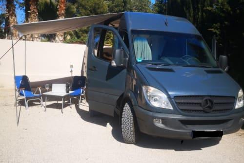 Wohnmobil mieten in Faro von privat | Mercedes Benz BlueBird