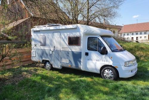 Wohnmobil mieten in Stetten von privat | Dethleffs  Whippie