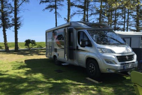 Wohnmobil mieten in Solingen von privat | Bürstner Travel Van