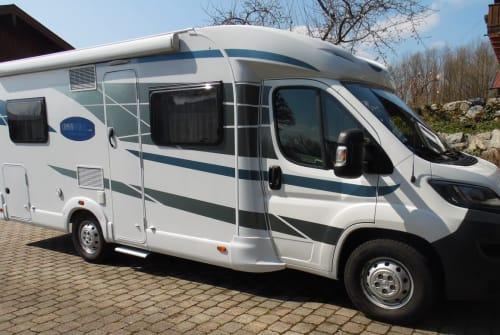Wohnmobil mieten in Gstadt am Chiemsee von privat | Knaus HUBSI