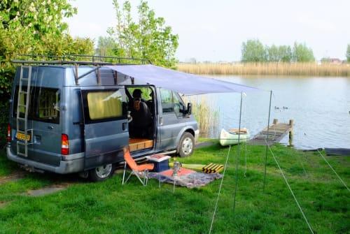 Wohnmobil mieten in Weesp von privat | Ford Unieke bus+kano