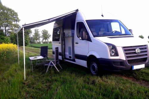 Wohnmobil mieten in Herzberg (Elster) von privat | VW  Buddy