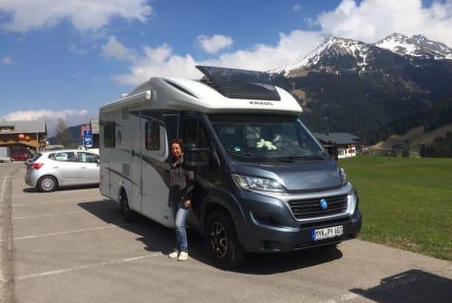 Wohnmobil mieten in Königsbronn von privat | Knaus Knäusken