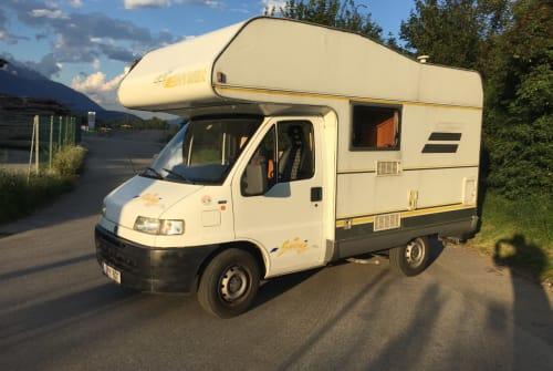 Wohnmobil mieten in Langkampfen von privat | Fiat Daisy