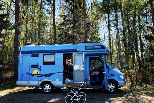 Wohnmobil mieten in Niederfrohna von privat | Mercedes Hilde