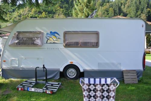 Wohnmobil mieten in Mühlacker von privat   Knaus Wohni Knaus Südwind