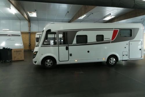 Wohnmobil mieten in Wadersloh von privat | Bürstner  Bursti