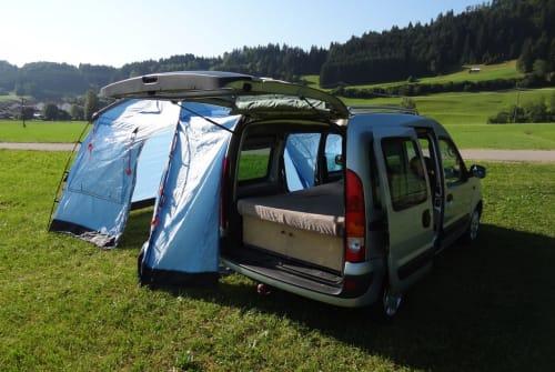 Wohnmobil mieten in Sonthofen von privat   Renault allgäuKangoocamper