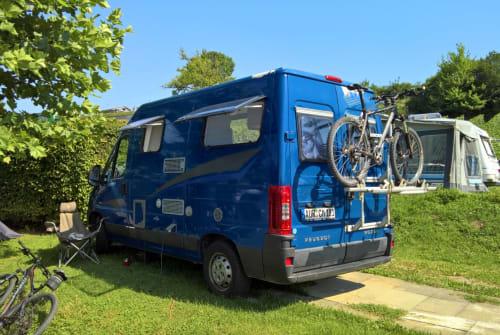 Wohnmobil mieten in Kleinmachnow von privat   Peugeot Womo