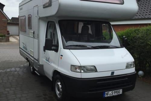 Wohnmobil mieten in Mildstedt von privat | Detleffs Fiat Ducato Nordsee-Camper