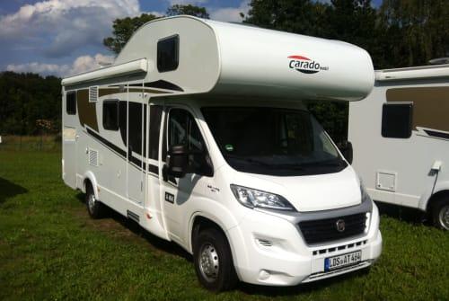 Wohnmobil mieten in Erfurt von privat   Fiat Carado A464 Holiday