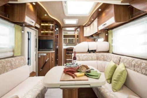 Wohnmobil mieten in Kritzow von privat | FRANKIA 790 GD Automatik  EXCLUSIV CLASS LUPEO  (LUP EO 88)
