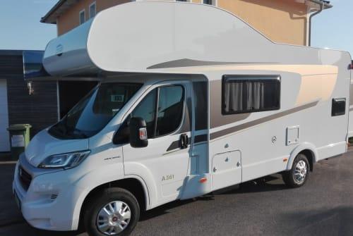 Wohnmobil mieten in Lichtenfels von privat | Carado Fonsi