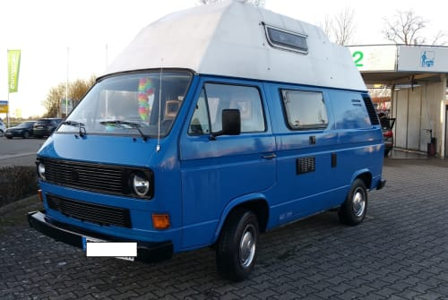Wohnmobil mieten in Erkelenz von privat | VW T3 Bus mit Hochdach Schlumpf