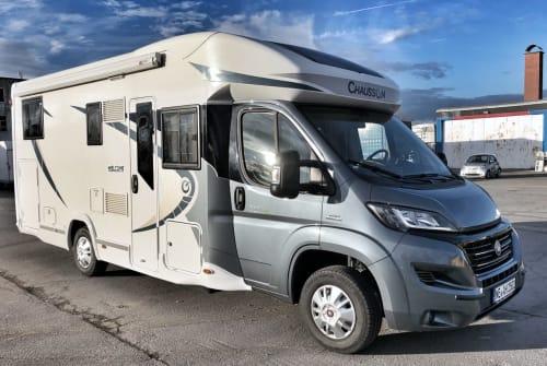 Wohnmobil mieten in Grevenbroich von privat   Chausson Luxus Welcome